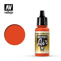 Vallejo Model Air 71086 Rojo Claro / Light Red