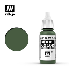 Vallejo Model Color 83 Verde Oliva Oscuro / Flat Green