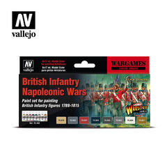 Vallejo Model Color 70163 British Infantry Napolenic War