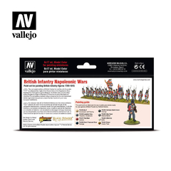 Vallejo Model Color 70163 British Infantry Napolenic War - comprar online