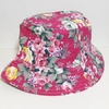 Bucket Hat Rosa Floral