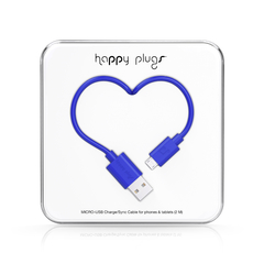 Cable Micro-USB Happy Plugs 2.0 Varios colores en internet