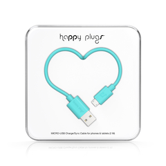 Cable Micro-USB Happy Plugs 2.0 Varios colores