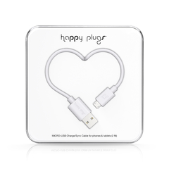 Cable Micro-USB Happy Plugs 2.0 Varios colores - comprar online