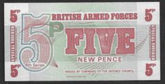 British Armed Forces, 5 New Pence