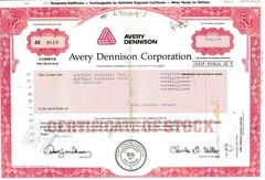 Avery Dennison Corporation - comprar online