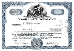 Major Realty Corporation