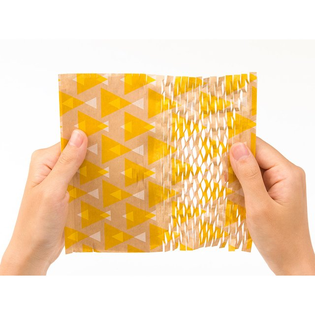 Papel para envolturas - Triangle Yellow en internet