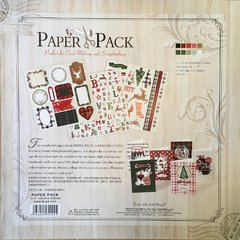 Scrapbooking Paper Pack - Christmas Collection en internet