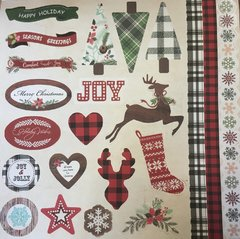 Scrapbooking Paper Pack - Christmas Collection - tienda online