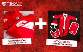 Campera + Kit OR Baby Personalizado