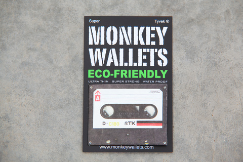 Tyvek® Wallets - Monkey Wallets® - Cassette TK - online store