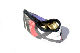 Purse for Coins by Monkey Wallets® - Abstracto