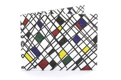 Tyvek® Wallet - by Monkey Wallets® - Abstracta