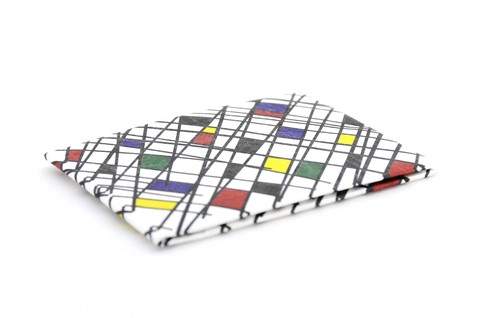 Tyvek® Wallet - by Monkey Wallets® - Abstracta - buy online