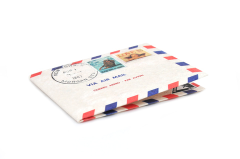 Billetera de papel Tyvek® - Monkey Wallets® - Airmail - comprar online