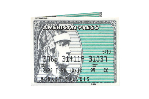 Tyvek® Wallet - by Monkey Wallets® - AMEX