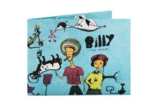 Tyvek® Wallet - by Monkey Wallets® - Billy the Weed - buy online