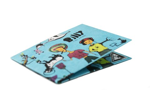 Carteira de papel Tyvek® - by Monkey Wallets® - Billy the Weed na internet