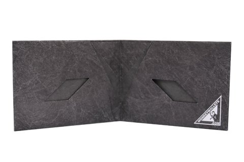 Tyvek® Wallet - by Monkey Wallets® - Black on internet
