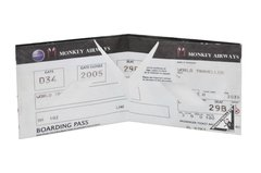 Billeteras de Papel Tyvek® - Monkey Wallets® - Boarding Pass en internet