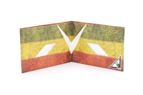 Carteira de papel Tyvek® - by Monkey Wallets® - Bob Marley - Monkey Wallets ®