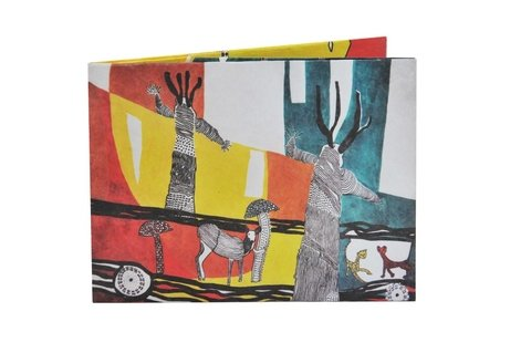Billeteras de Papel Tyvek® - Monkey Wallets® - Bosque