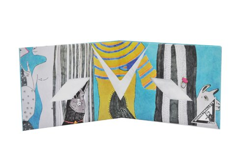Carteiras de Papel Tyvek® - Monkey Wallets® - Llama na internet
