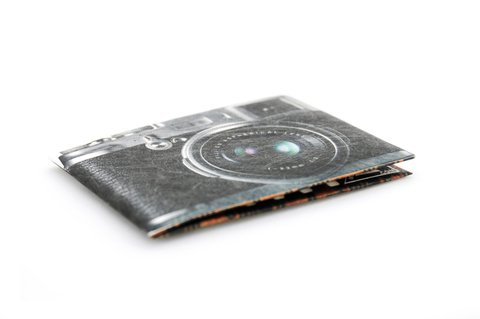 Billetera de Papel Tyvek® - Monkey Wallets® - Cámara - comprar online