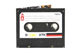 Carteiras de Papel Tyvek® - Monkey Wallets® - Cassette TK