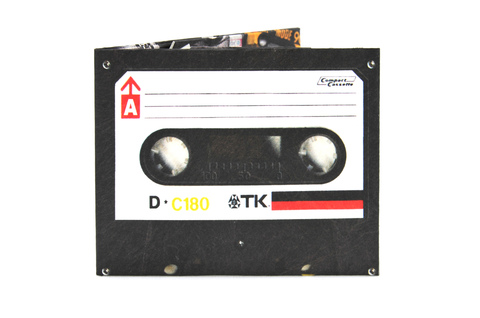 Tyvek® Wallets - Monkey Wallets® - Cassette TK