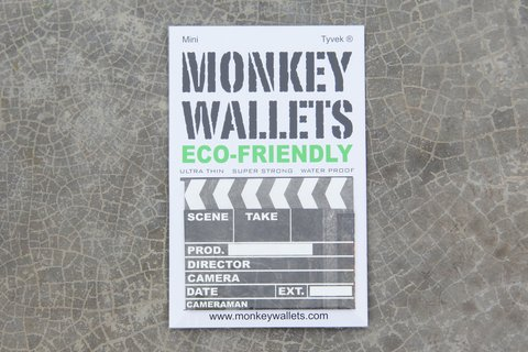 Mini Monkey Wallet® - Claqueta de Cine na internet
