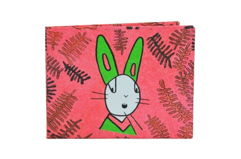 Carteiras de Papel Tyvek® - Monkey Wallets® - Rabbit