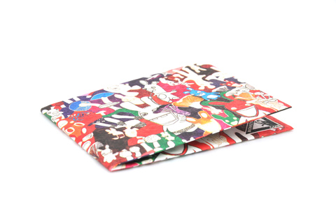 Tyvek® Wallet - by Monkey Wallets® - Rabbits - buy online