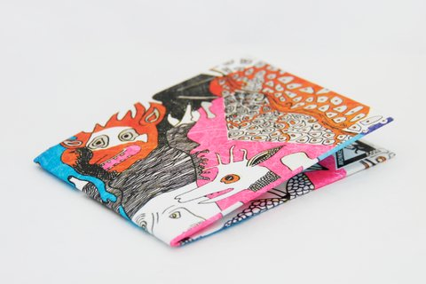 Tyvek® Wallet - by Monkey Wallets® - Diabólica on internet