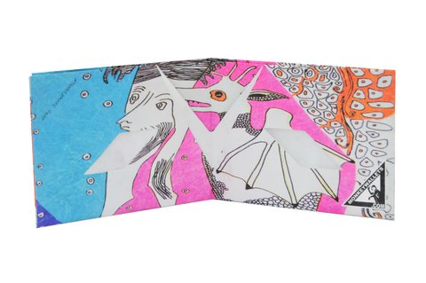 Tyvek® Wallet - by Monkey Wallets® - Diabólica - Monkey Wallets ®