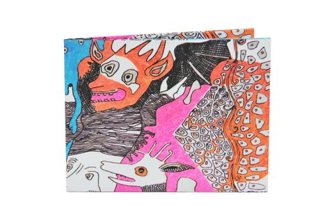 Tyvek® Wallet - by Monkey Wallets® - Diabólica - buy online