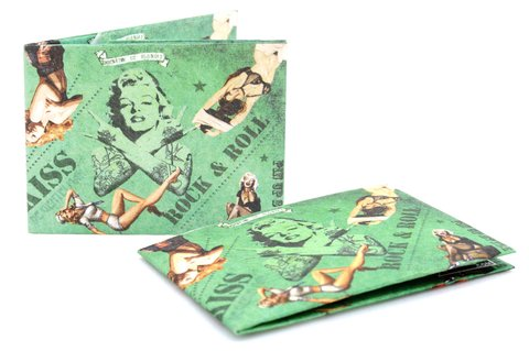 Tyvek® Wallet - by Monkey Wallets® - Pin Up - Monkey Wallets ®