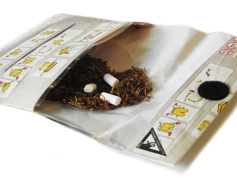 Image of Tabaco Pouch - Airplane