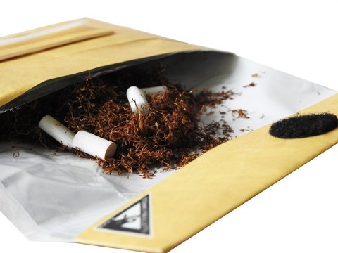 Tabaco Pouch - Papel Madera