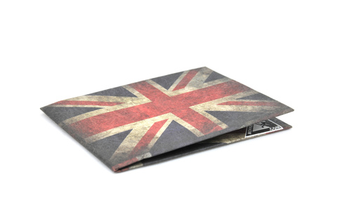 Billetera de papel Tyvek® - by Monkey Wallets® - Union Jack - comprar online