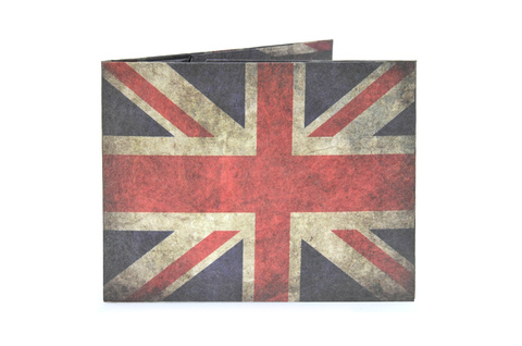 Carteira de papel Tyvek® - by Monkey Wallets® - Union Jack