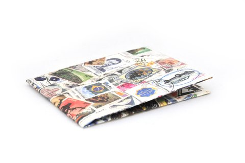 Billetera de papel Tyvek - by Monkey Wallets® - Estampillas - comprar online