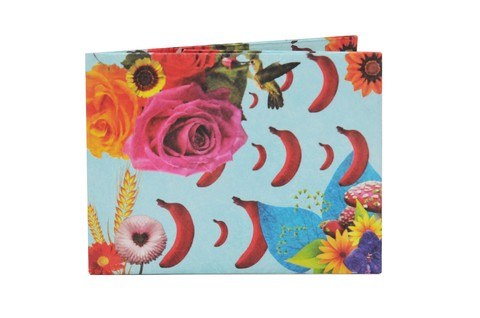 Tyvek® Wallets - Monkey Wallets® - Flowers