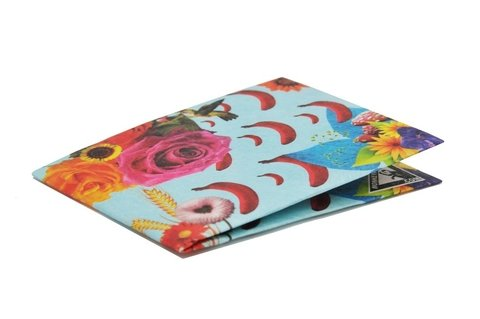 Billeteras de Papel Tyvek® - Monkey Wallets® - Flores - comprar online