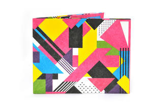 Carteira de papel Tyvek® - by Monkey Wallets® - Fluo