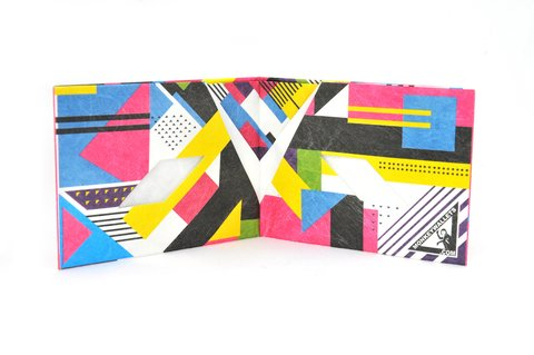 Billetera de papel Tyvek® - by Monkey Wallets® - Fluo en internet