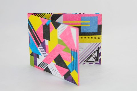 Billetera de papel Tyvek® - by Monkey Wallets® - Fluo - Monkey Wallets ®