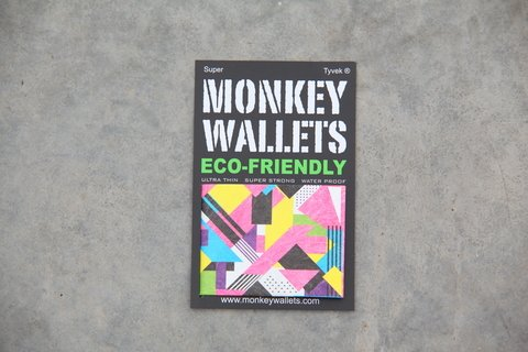 Billetera de papel Tyvek® - by Monkey Wallets® - Fluo - comprar online