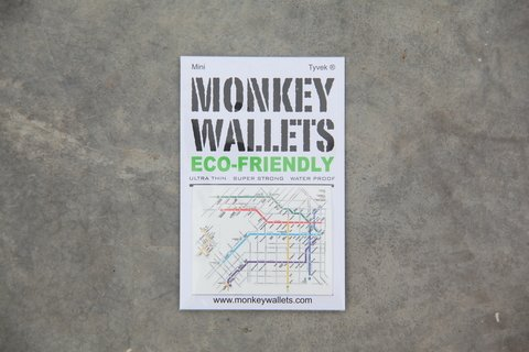 Mini Monkey Wallet® - Subte Buenos Aires on internet